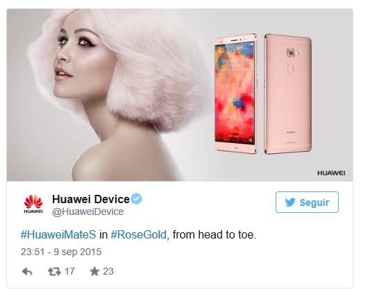 Huawei Rose Gold criticas