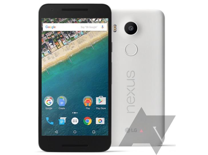 LG Nexus 5X en su primer render oficial