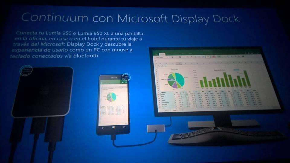Microsoft Docking Station funcionará con Continuum