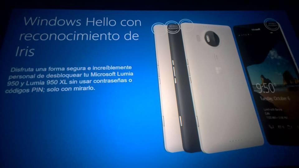 Windows Hello llega en los Lumia 950 y Lumia 950 XL