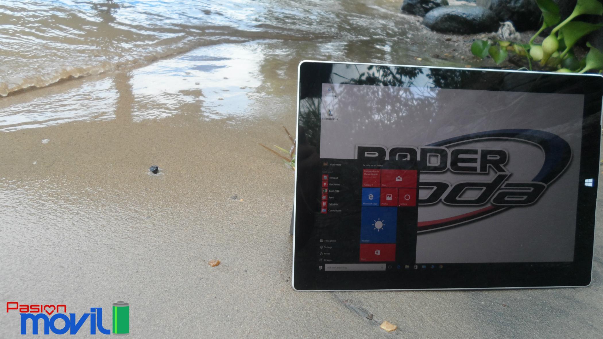 El desempeño resulta el talon de Aquiles de la Surface 3 con 2 GB de RAM