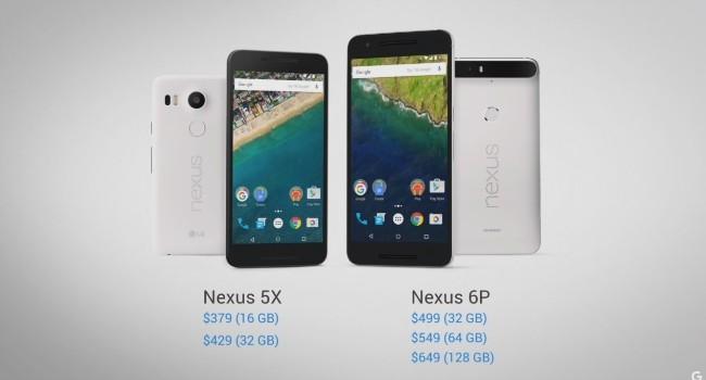Nexus 6P precios