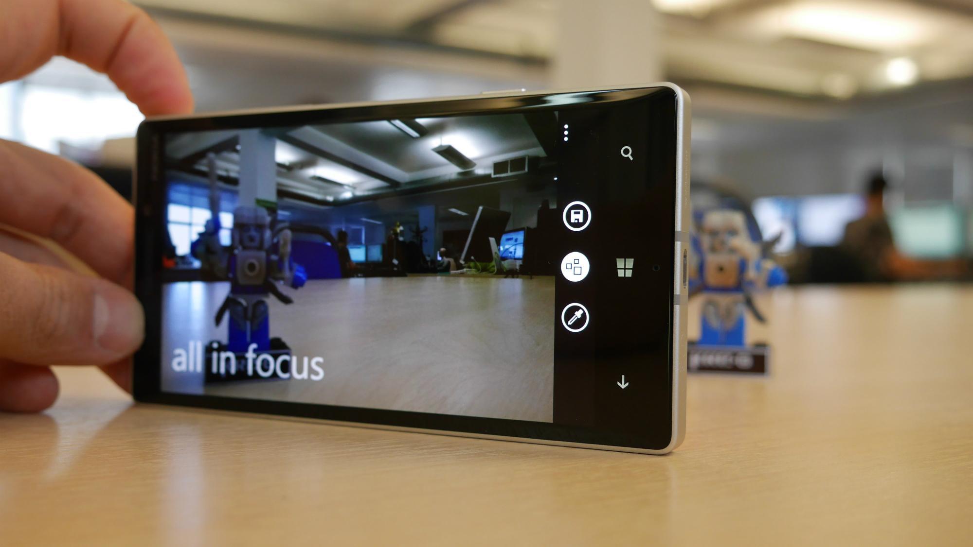 Lumia Camera y muchas más apps fotografías tiene un valor añadido
