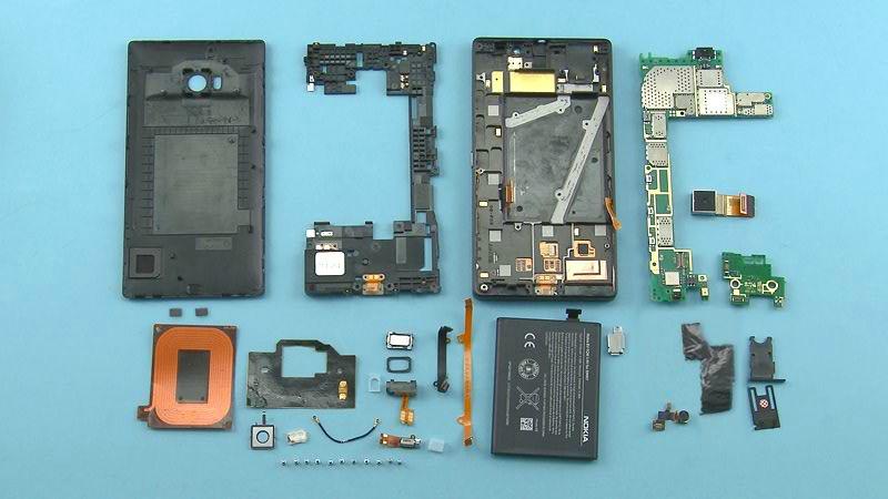 Interior del Lumia 930