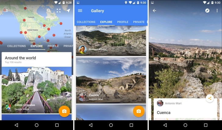 StreetView app para android