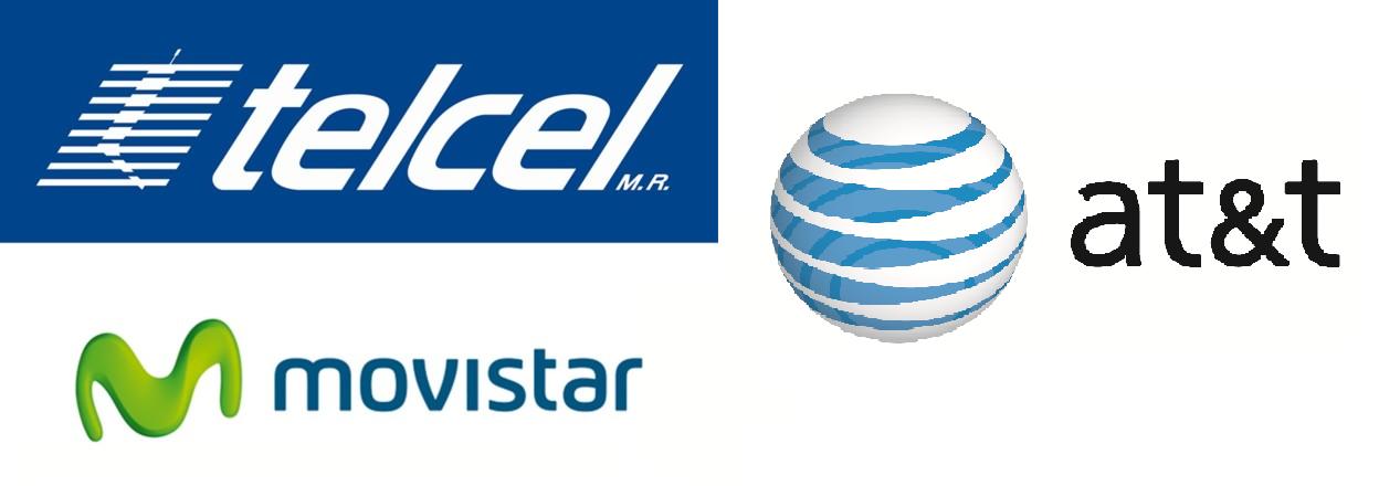 Telcel, Movistar y AT&T se disputan el mercado mexicano