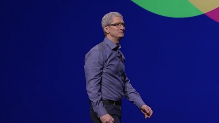 El CEO de Apple, Tim Cook, se encargo de dirigir la presentación
