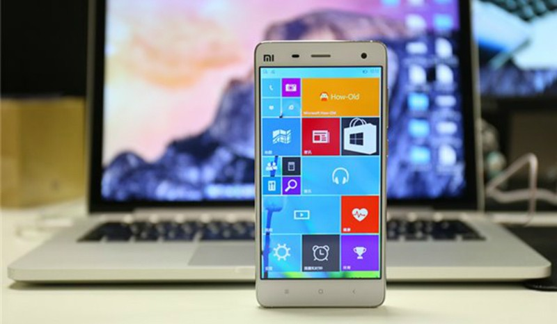 Xiaomi Mi 4 corriendo Windows 10 Mobile