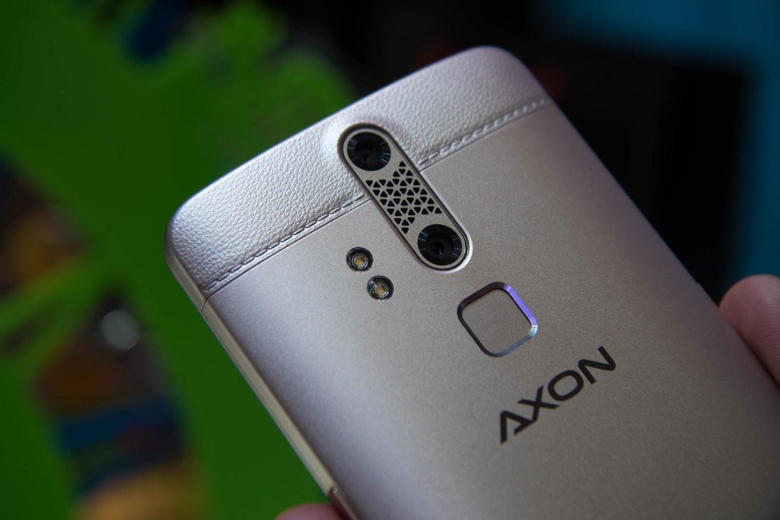 ZTE Axon Elite tiene una duo cámara trasera