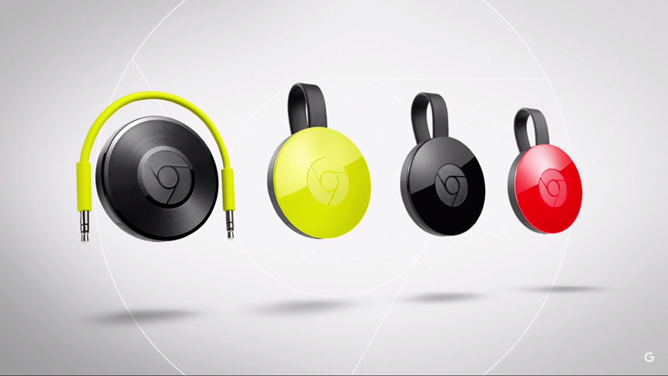 Los nuevos Chromecast y Chromecast Audio