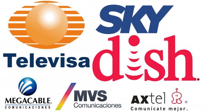 Empresas que ofrece servicio de TV de paga en México