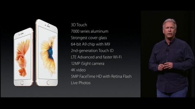 especificaciones iPhone 6S_6S Plus