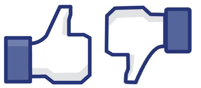 """Pronto veremos el botón """"No me gusta"""" en Facebook"""