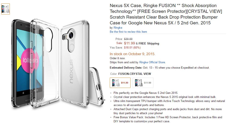 funda-LG-Nexus-5x-amazon