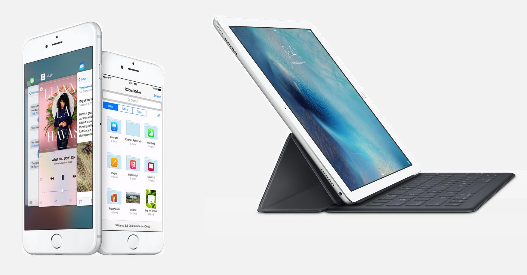 iPhone 6S iPad Pro