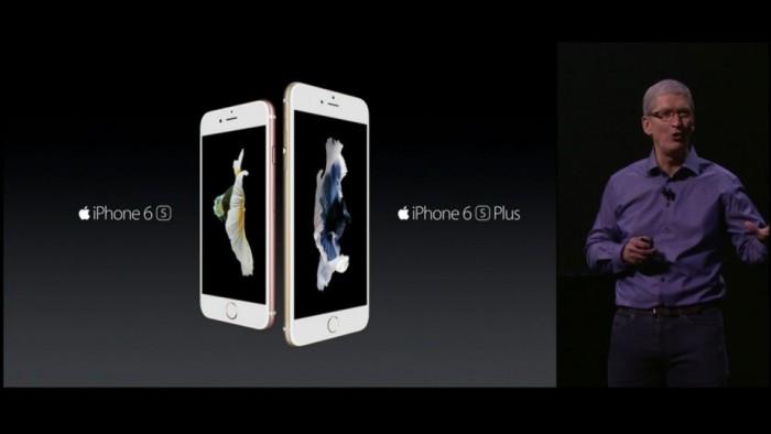 iPhone 6S y iPhone 6S fueron presentados por Apple