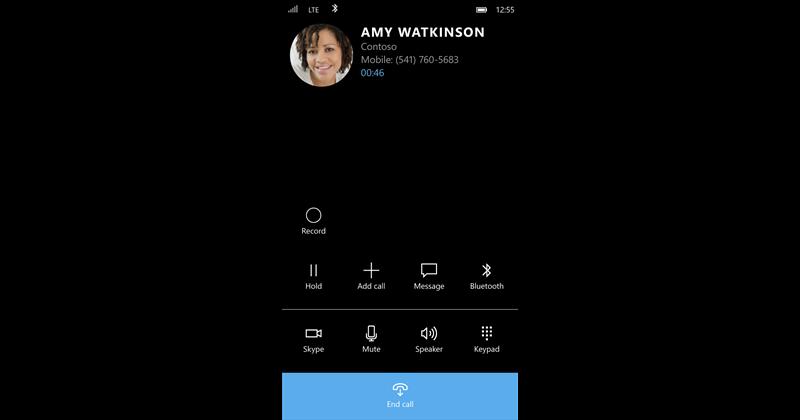 record-button skype beta windows 10 mobile