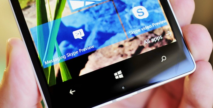 skype-messaging-beta-tile Windows 10 Mobile