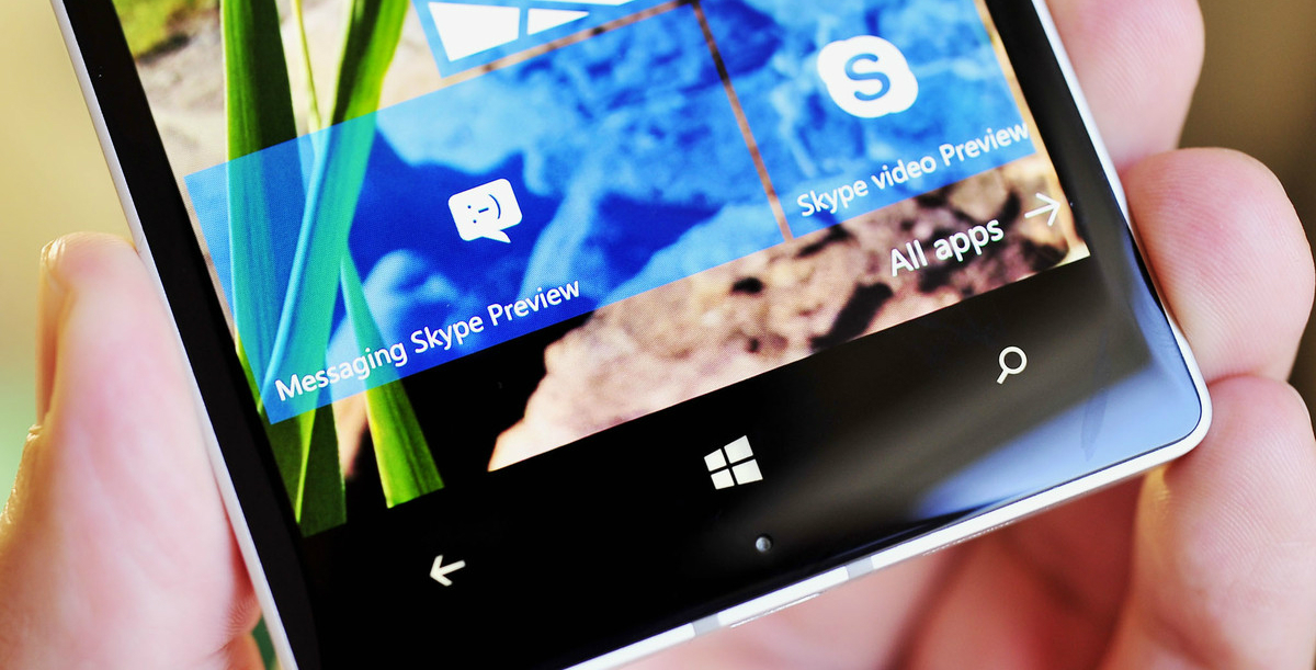 skype-messaging-beta-tile Windows 10 Mobile