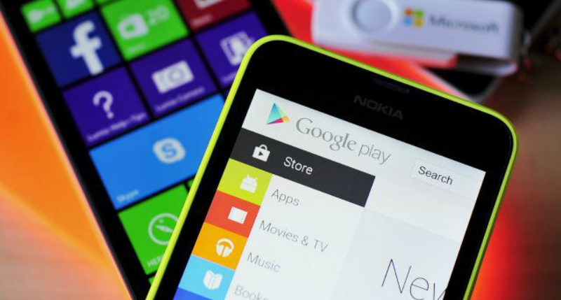windows store apps android