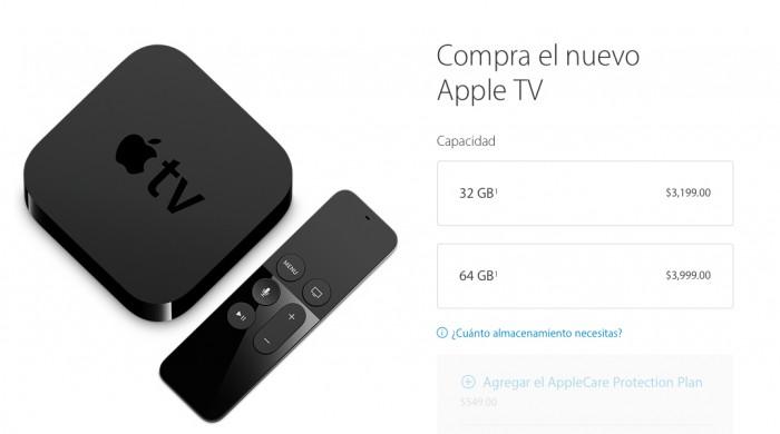 Apple Tv precio méxico