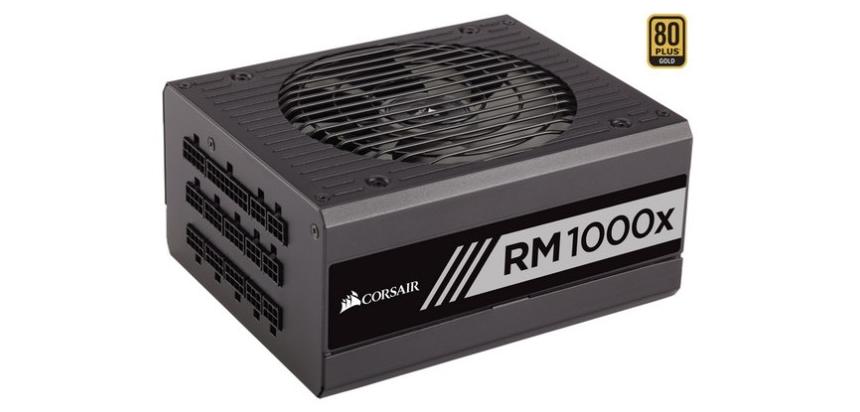 Corsair RMx llegan con capacidades desde 550W hasta 1000W