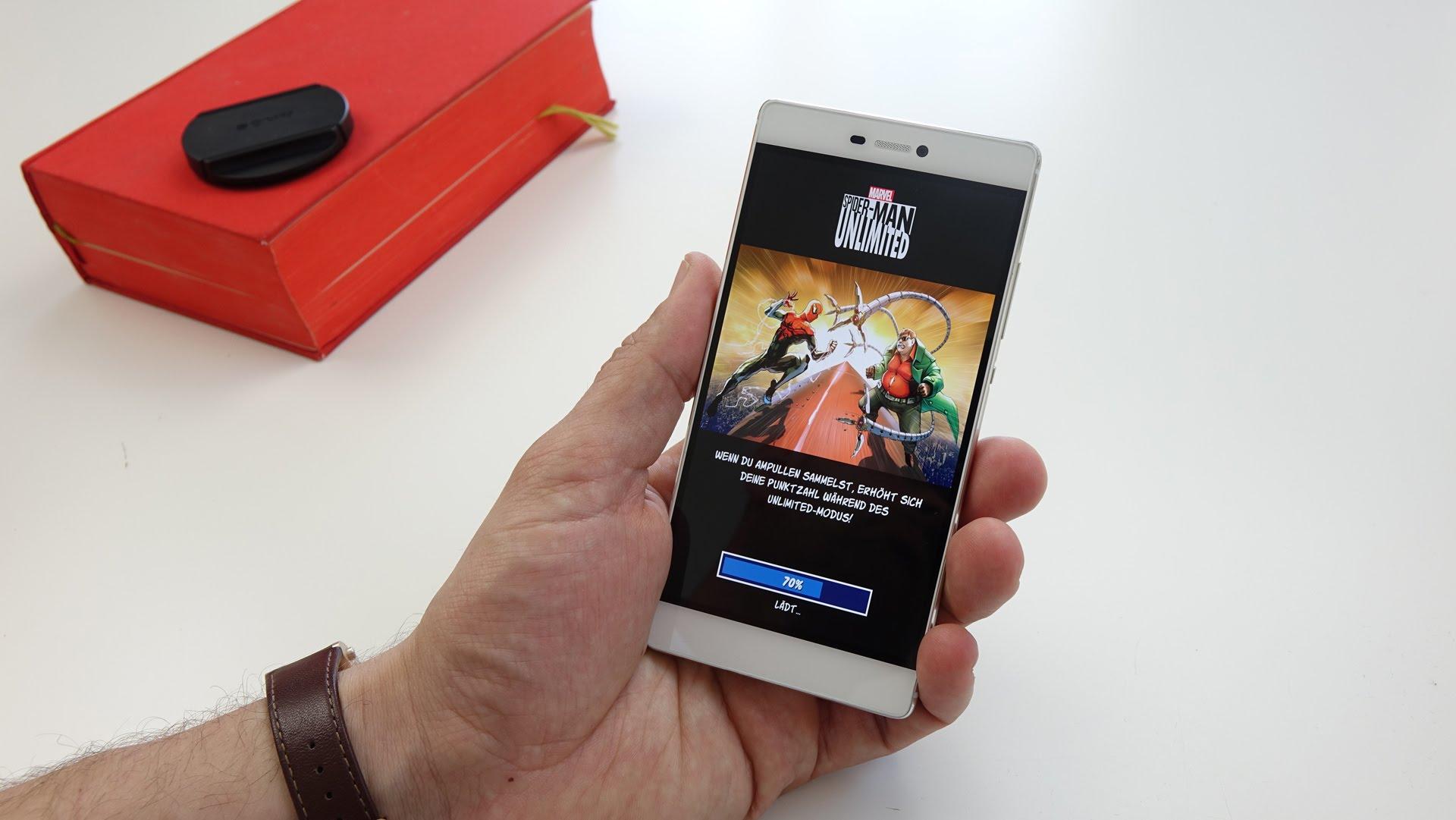 Huawei P8 no tiene un buen performance