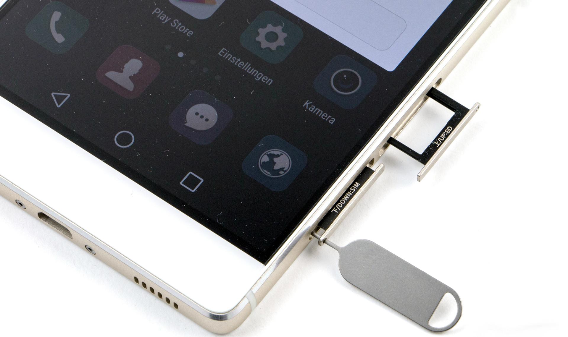 Huawei P8 tiene soporte DualSIM y microSD