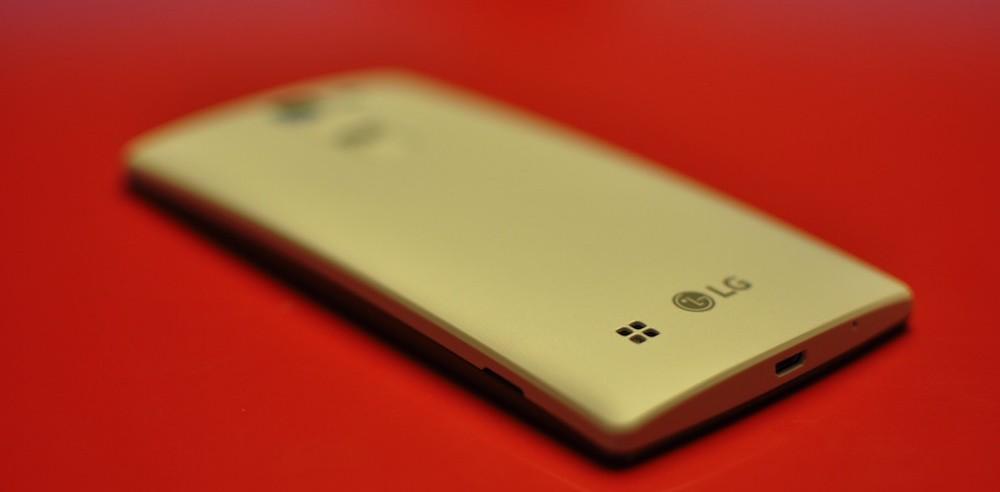 LG Magna hereda un diseño trasero de los gama alta