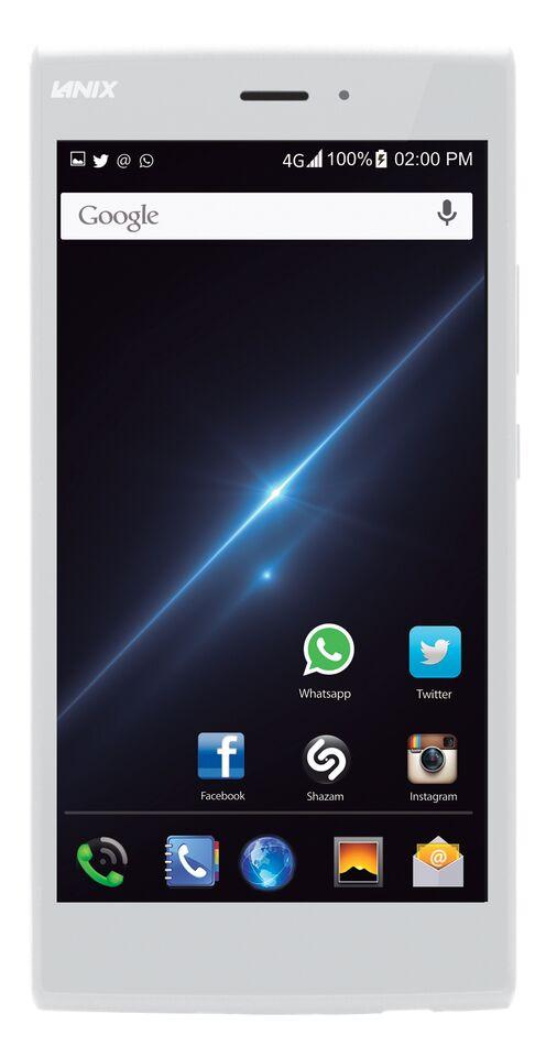 Lanix Ilium L1000 blsnco-plata