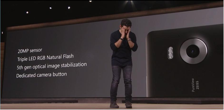 Un sensor de 32 megapíxeles integra el Lumia 950 XL