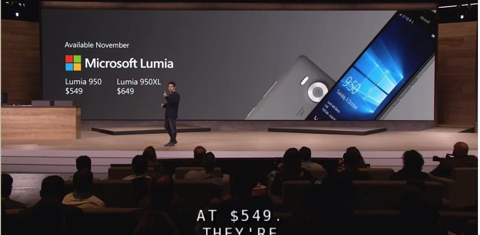 Microsoft Lumia 950 Lumia 950 XL precios