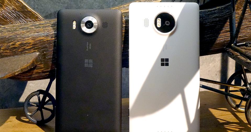 Microsoft Lumia 950 y Lumia 950 XL camara