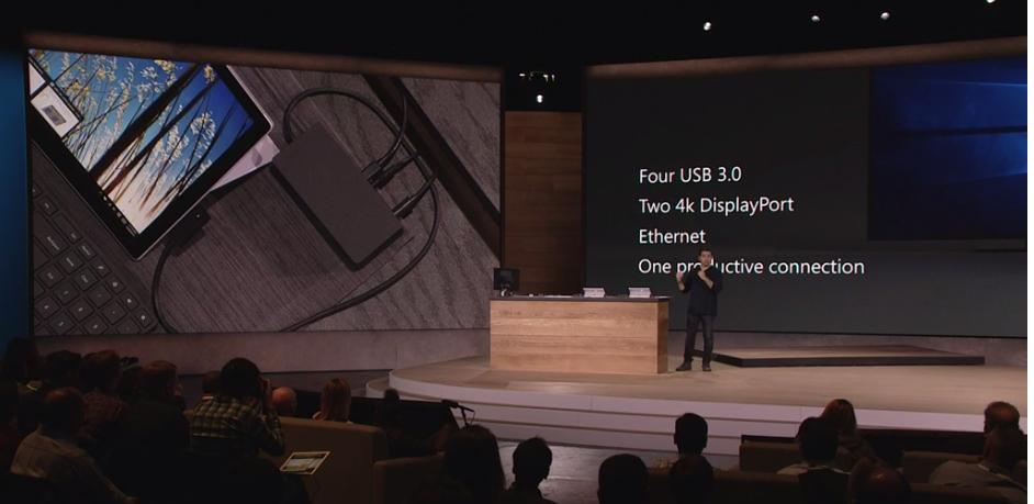 Un Dock con más puertos para la Surface Pro 4
