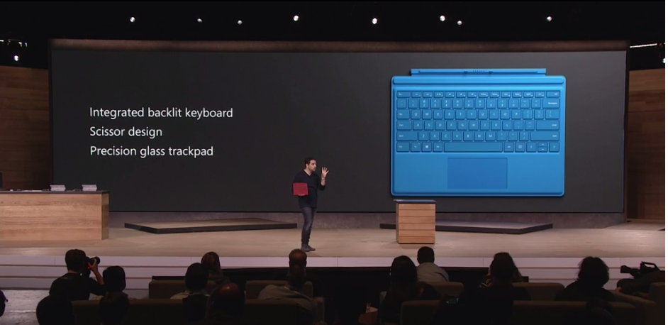 Typer Cover de la Surface Pro 4