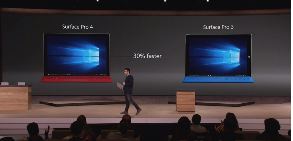 Microsoft Surface Pro 4 vs Surface Pro 3