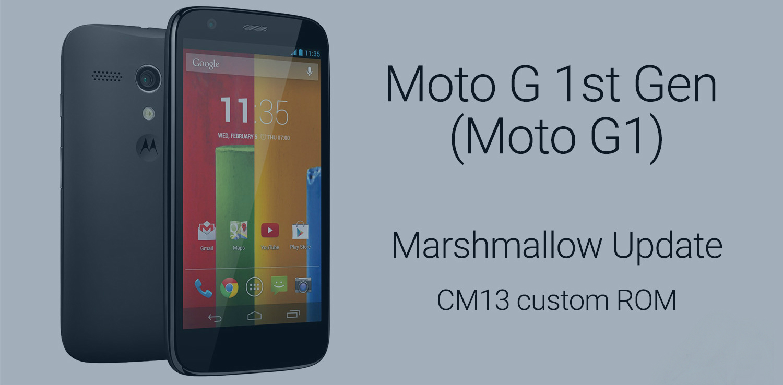 Moto-G-Marshmallow-update-CM13-ROM