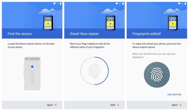 Nexus 5X y Nexus 6P ya permiten comprar con tu huella digital