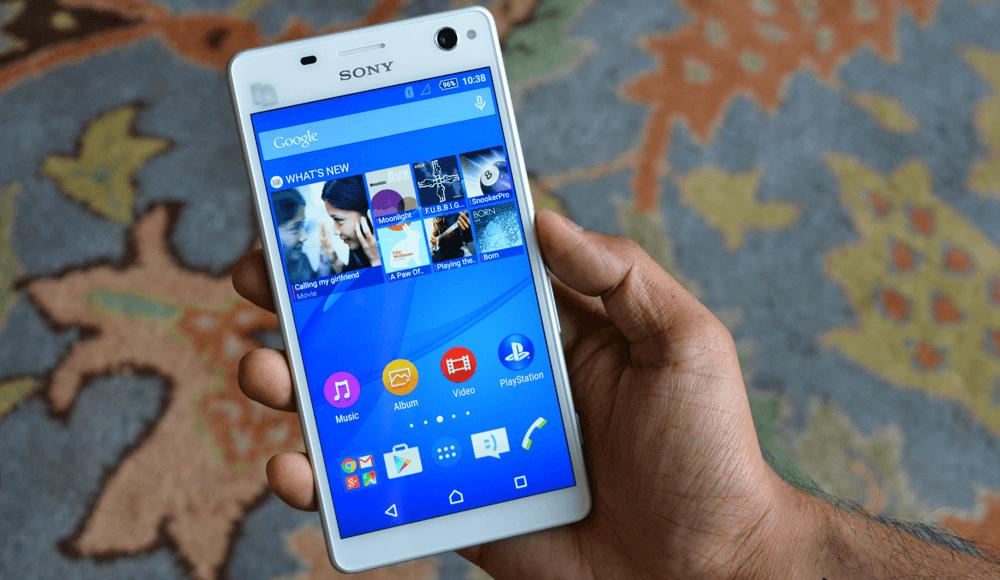Android 5.0 Lollipop con Xperia UI de serie en el C4
