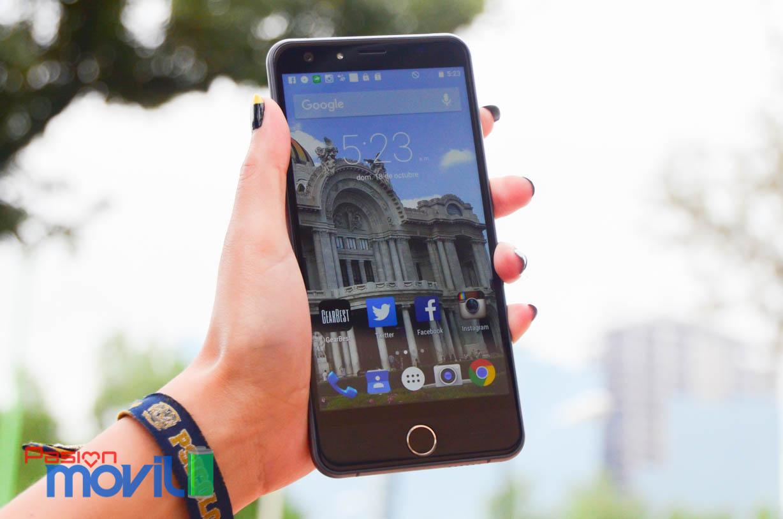 Android 5.1.1 Lollipop sin capa de personalización en el Be Touch 2