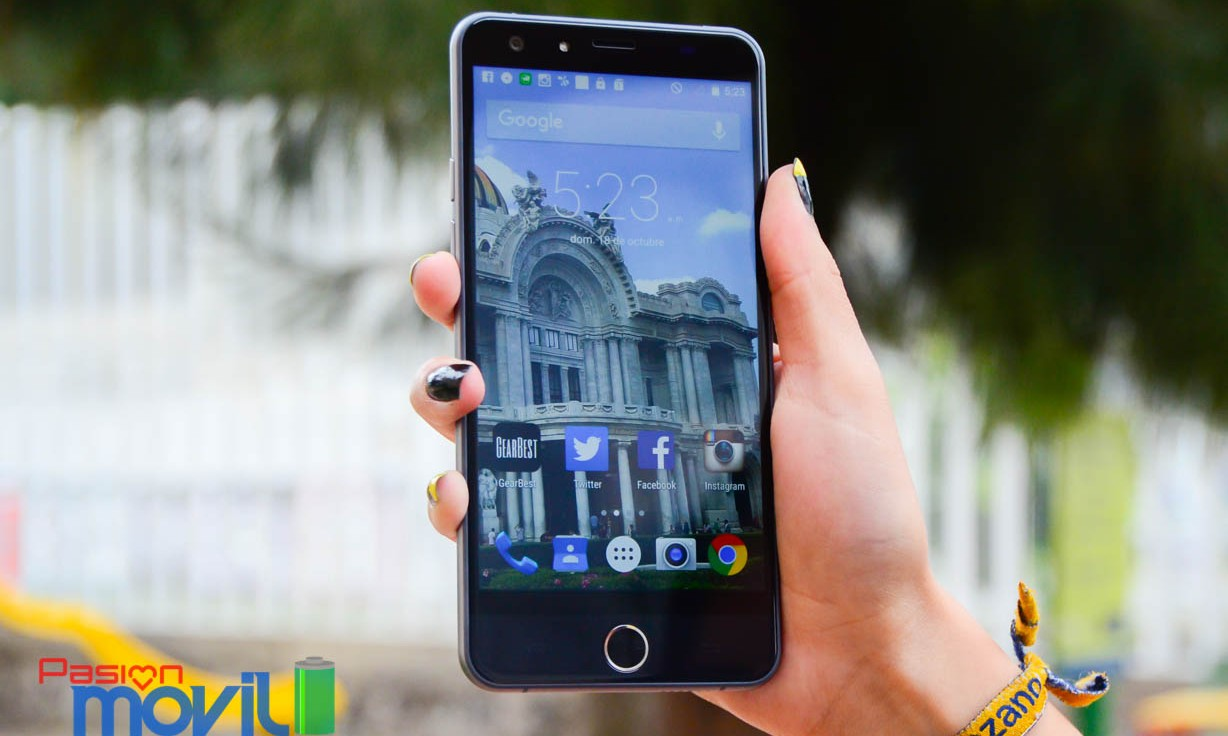 Ulefone Be Touch 2 -Analisis completo review en español