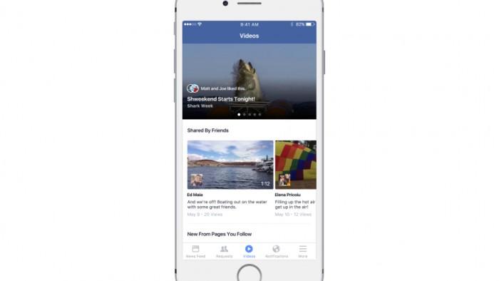 facebook hub-videos
