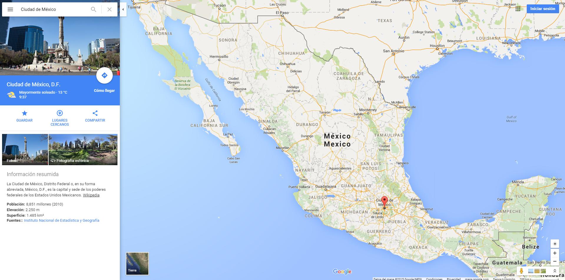 Google maps web rediseado con material design poderpda nueva interfaz de google maps gumiabroncs Images