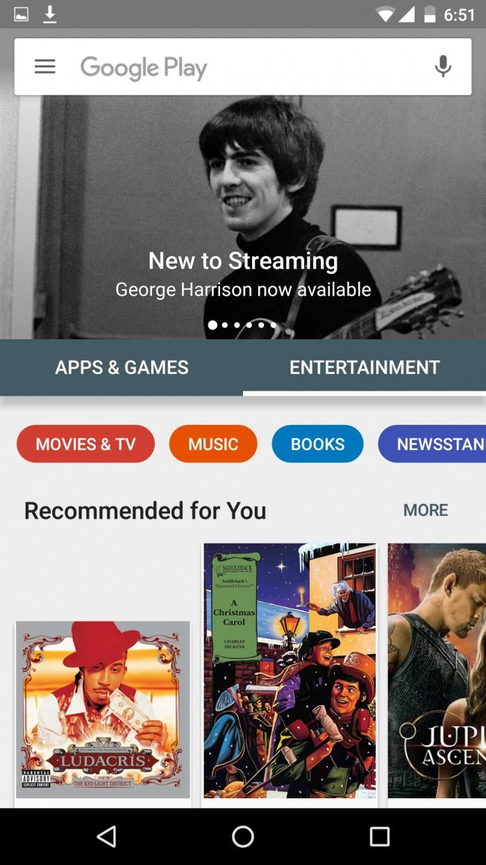 google-play-store entretenimiento