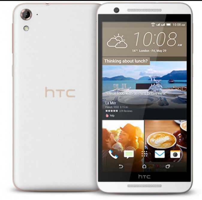 htc one E9s blanco