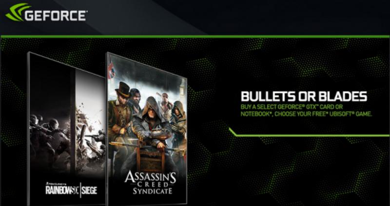 Nvidia regala juegos de Ubisoft