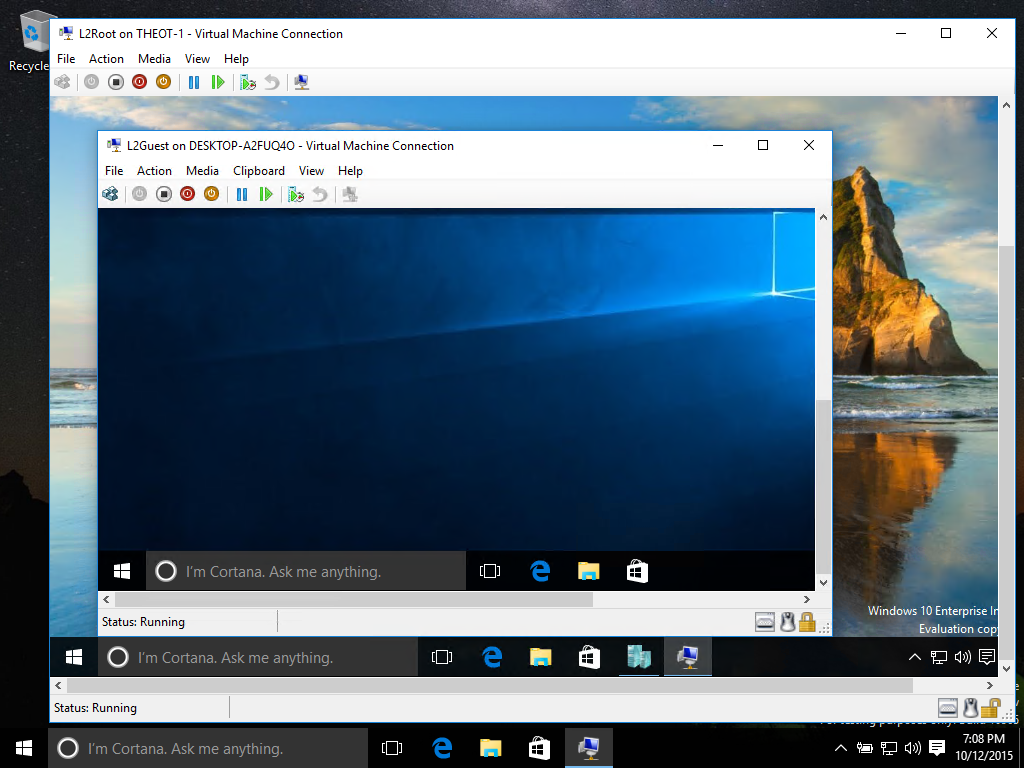 windows 10 on windows 10