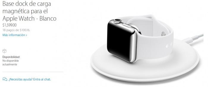 Apple Watch base dock carga magnetica