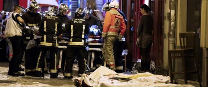 Víctimas de los ataques terroristas efectuados en París.