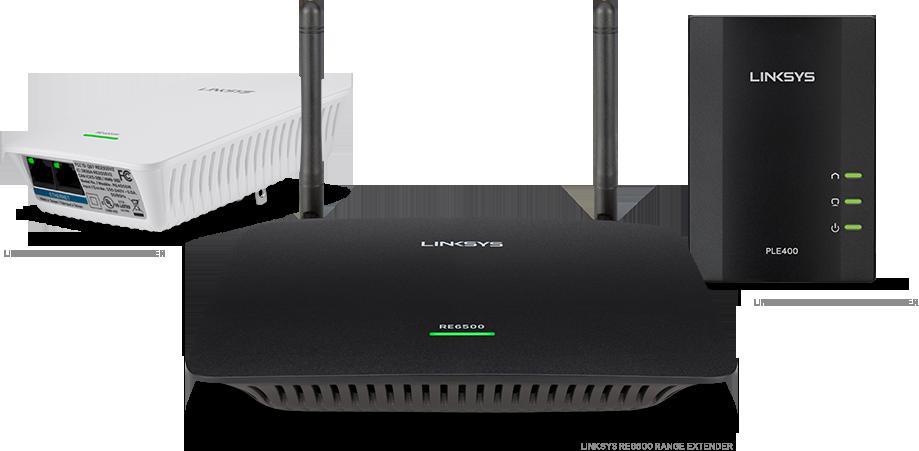 Extensores WiFi de Linksys